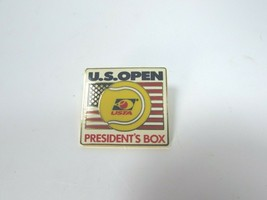 VINTAGE U S Open USTA Lapel Pin Presidents Box Tennis 30515 image 1