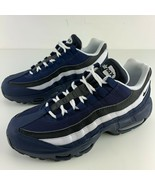Nike Air Max 95 Size 6 Mens Essential Midnight Navy Blue Black White Wom... - $144.95