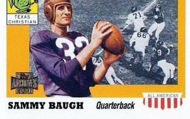2001 Topps Archives Sammy Baugh Football Trading Card #88 Texas Christian - $3.95