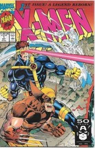X-Men Comic Book Second Series #1 Wolverine Cover Marvel 1991 VERY FINE ... - $3.99