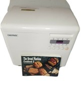 Chefmate Bread Machine HB-12W Includes Recipe Book EUC - $99.00