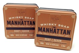 The Scottish Fine Soaps Company Whisky Hand Body Soap Set of 2 - $17.42