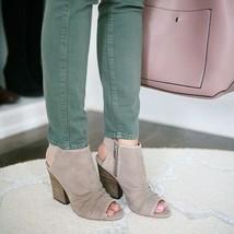 VINCE CAMUTO Kentvi Open Toe Bootie Sandals 9 Women Lk Nw! - $38.51