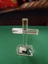 "NEW- Beautiful Crystal Crucifix by ""Marquis"" WATERFORD...7"" height......... - $21.38"
