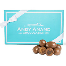 Andy Anand Milk Chocolate Covered Cappuccino Biscotti Box Free Air Shipping 1 lb - $22.84