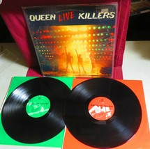 "VINYL LP RECORD ALBUM, 1979 ""QUEEN LIVE KILLERS"", from QUEEN on ELEKTRA ... - $27.71"