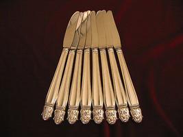 Danish Princess Sterling Silver Handle Grille Knives Holmes Edwards Flatware - $296.99