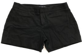 Gap Cotton Shorts Black Flat Zipper Front Casual size 0 Preppy - $8.88
