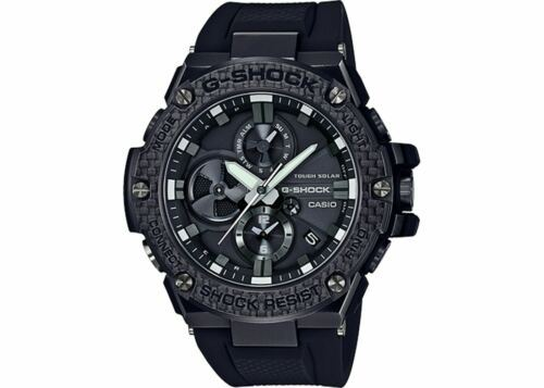 Primary image for Casio GSTB100X-1A G-SHOCK G-STEEL Bluetooth Men's Black Resin Round Wrist Watch