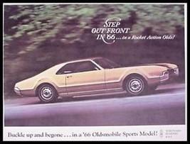 1966 Oldsmobile Sports Brochure Toronado Starfire 442 - $11.76