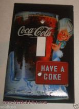 Have a Coke Coca-Cola Light Switch Outlet wall Cover Plate Home Decor image 1