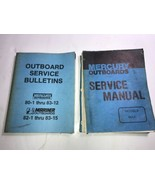 Mercury Outboards Service Manual models Maxi & 80-1 thru 83-12 both books! - $42.06