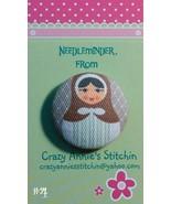 Matryoshka #4 Needleminder fabric cross stitch ... - $7.00