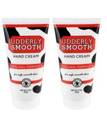 2 New!! Udderly Smooth Lightly Scented Scent Hand Cream 2oz Lotion Moist... - $7.02