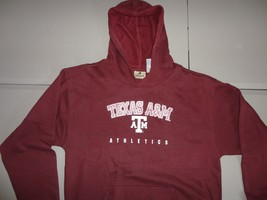 Maroon NCAA Reebok Heisman Texas A&M Aggies Screen Hoodie Hooded Sweatsh... - $31.67