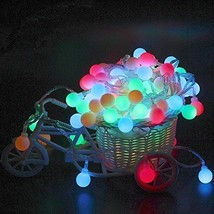 E Support 2 Pack Globe String Lights 40 LED Ball Decorative String Lights Christ - $15.83