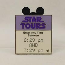 WDW - Hidden Mickey 2007 Series 2 - Fast Pass - Star Tours Disney Pin 58979 - $28.70