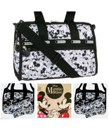 LeSportsac Disney Mickey Loves Minnie Mouse Small Weekender/Everyday Bag... - $116.00