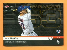 2019 Topps Now #930 Pete Alonso MLB Leader in Home Runs With 53 - $9.99