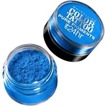 Maybelline - #10 Brash Blue - Color Tattoo Pure Pigments Eye Shadow - $5.99
