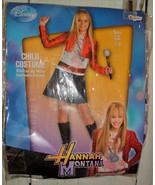 Hannah Montana Denim Dress Red Jacket Child Costume 7-8 Halloween Disney - $16.82