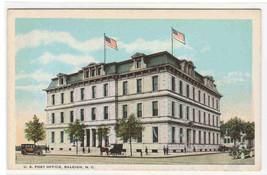 Post Office Raleigh Hill North Carolina postcard - $5.94