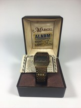 Vintage Marcel Melody Alarm Chronograph Not Working Parts / Repair - $17.81