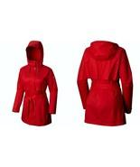 Columbia Womens Pardon My Trench Omni-Shield Vented Hooded Rain Jacket R... - $59.99