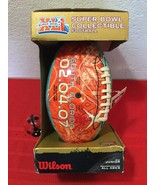 Rare Wilson Super Bowl XLI South Florida Collectible Football Official J... - $50.00