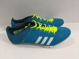 adidas Adizero Prime Finesse Running Spikes Blue Track Spike Sprinters 1... - $59.56