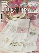 """Leisure Arts """"Old-Fashioned Fingertips"""" 15 Cross-Stitch Designs - Gently... - $6.00"""