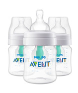 Philips Avent Anti-colic Bottle with AirFree vent 4oz 3pk, SCF400/34  - $32.95