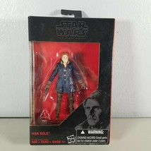 "Star Wars Action Figure Han Solo From The Black Series 3.75""  NIP - $9.99"