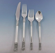 Aegean Weave Plain by Wallace Sterling Silver Flatware Set for 8 Service 38 pcs - $2,295.00