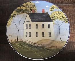 Sakura - Warren Kimble Home Sweet Home Folk Art Stoneware Salad Dessert Plate - $19.99