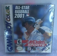 All Star Baseball 2001 Nintendo Game Boy Color New Old Stock Derek Jeter - $24.74