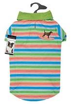 Casual Canine Hawaiian Breeze UPF40 Polo Shirt for Dogs, Medium - $21.23