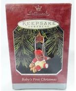 Hallmark keepsake christmas ornament baby first christmas - $9.87
