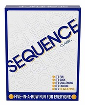 SEQUENCE- Original SEQUENCE Game with Folding Board Cards and Chips by J... - $24.32