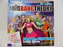 Big Bang Theory: Fan Edition Fact Or Fiction Trivia Board Game - $18.66