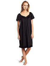 Vanity Fair Women's Coloratura Sleepwear Short Flutter Sleeve Gown 30109 - $14.84+
