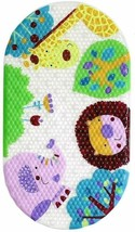 Fmh Animal Print Bath Mat - For Tubs/Showers And Kids Of All Ages, Trans... - $18.87