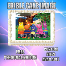 Backyardigans Edible Image Topper Icing Party Cake Frosting CA45 - $8.50