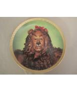 COWARDLY LION collector plate WIZARD OF OZ PORTRAITS Thomas Blackshear - $55.96