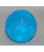 Glass Baron Round Dolphins  Paperweight - $19.80