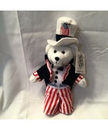 Collectible Uncle Sam Stamp Bear by USPS… - $11.00