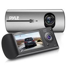HD Vehicle Dash Cam - Dual Camera DVR Video Recording System with GPS Na... - $69.92