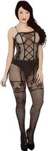 cartoon pinup girl black fishnet body stocking printable art clipart png... - $2.99