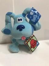 "Blues Clues 10"" Plush Dog w Handy Dandy Notebook Nick Jr Eden Viacom 1998 - $44.50"