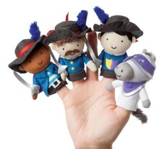 Manhattan Toy étage Temps Doigt Mousquetaire Mates marionnettes  - $33.87